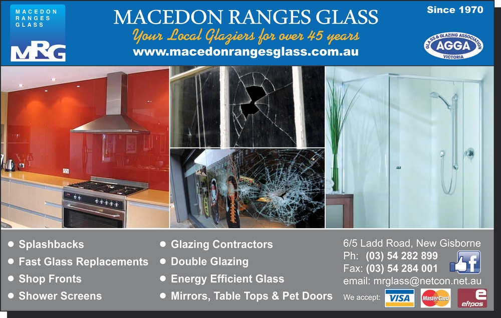 Macedon ranges glass